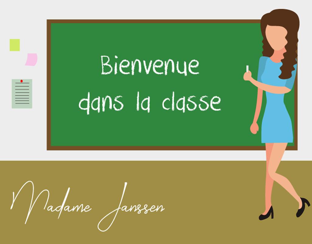 Illustratie voor Madame Janssen