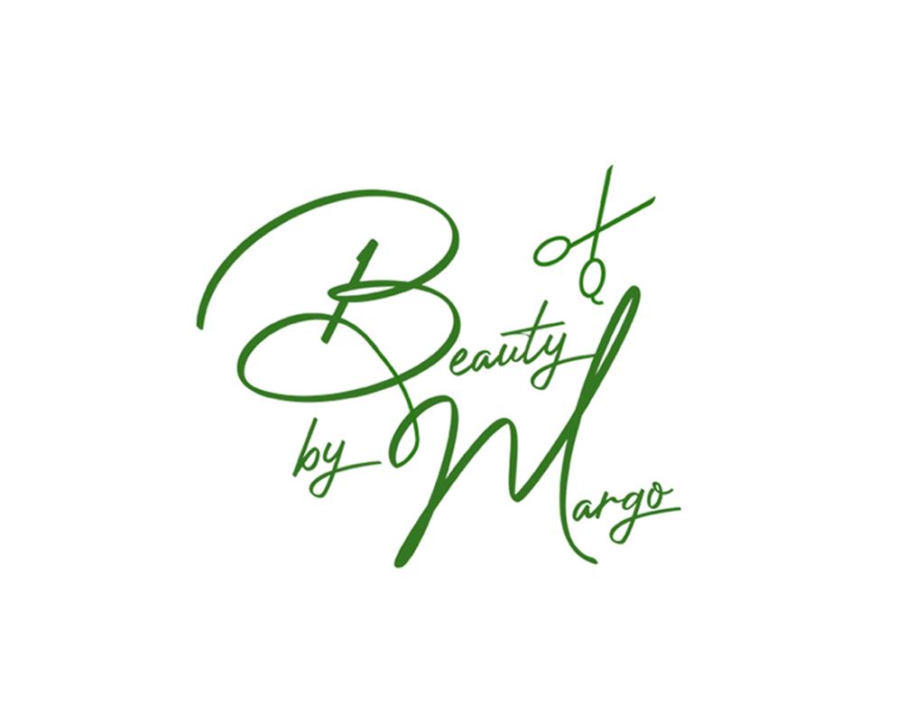 Logo en visitekaartje voor Beauty by Margo