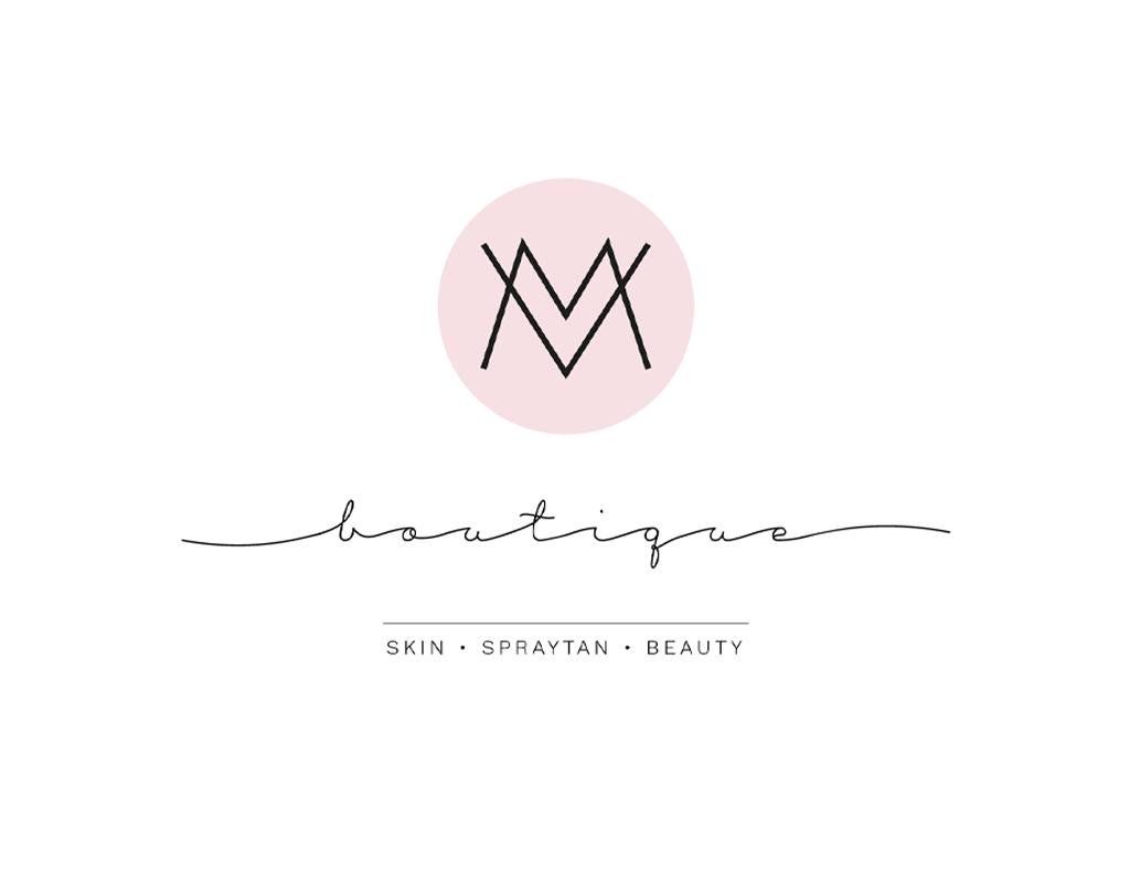 Logo's voor MV Boutique met allure