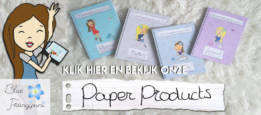 Blue Frangipani Slider Paper Products Studio 95
